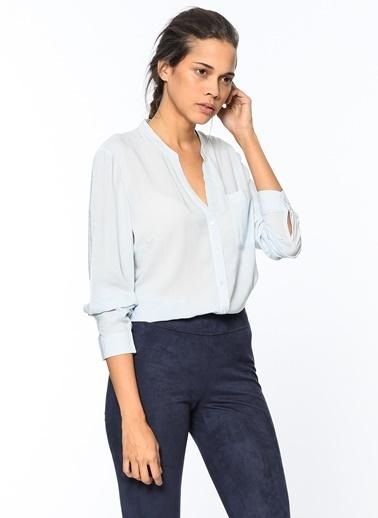 Hakim Yaka Uzun Kollu Gömlek-Vero Moda